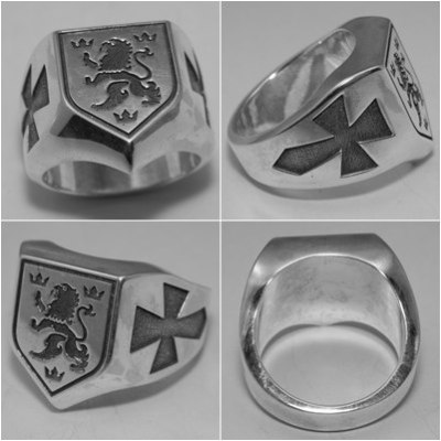waffen ss галичина silver ring